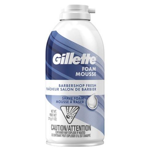 Gillette Barbershop Fresh Men's Shave Foam - 11oz - image 1 of 5