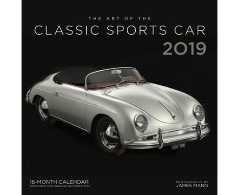 Art of the Classic Sports Car 2019 Calendar -  (Paperback) - image 1 of 1
