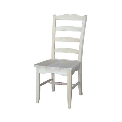 Set of 2 Magnolia Chair Unfinished - International Concepts