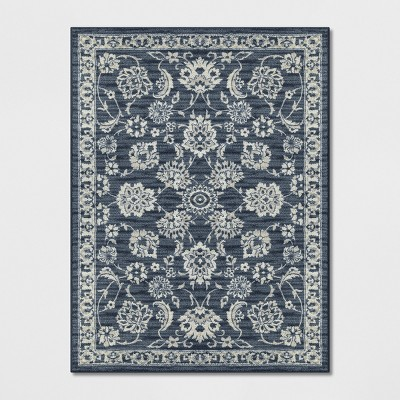 9'X12' Floral Tufted Area Rugs Blue - Threshold™