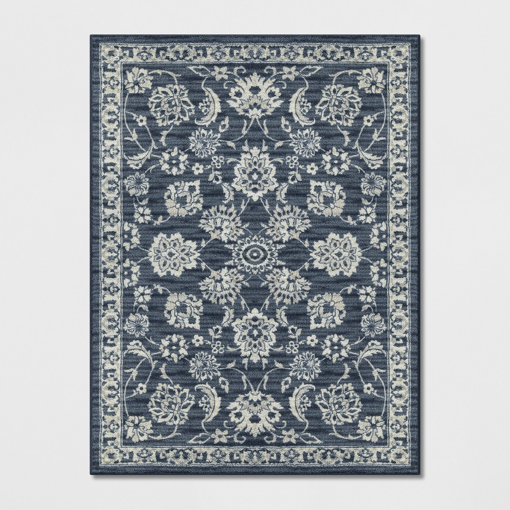 9'X12' Floral Tufted Area Rugs Blue - Threshold