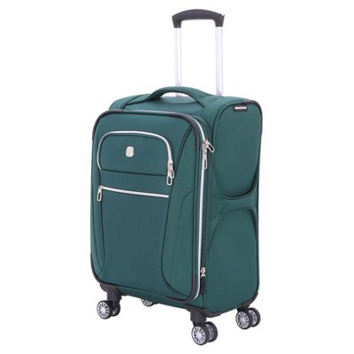 SwissGear Checklite 20  Carry On Suitcase - June Bug Green