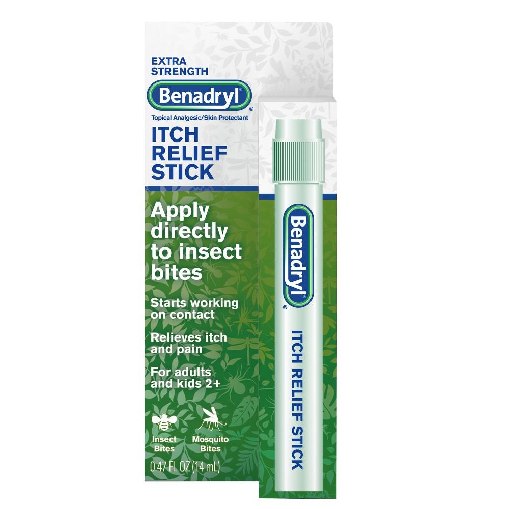 Benadryl Travel Size Extra Strength Itch Relief Stick - .47oz