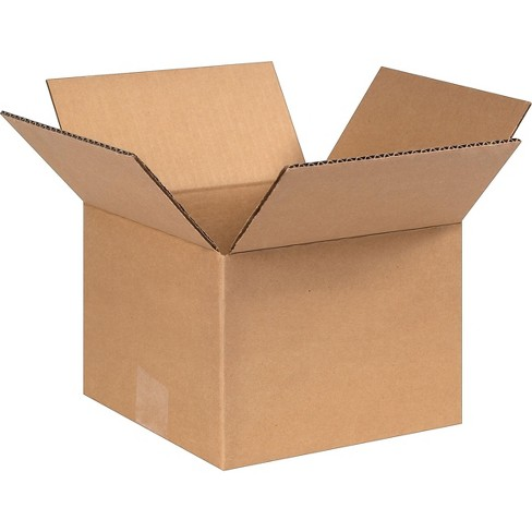 SI Products 8 x 8 x 6 Shipping Boxes, 32 ECT, Brown 80806 - image 1 of 2