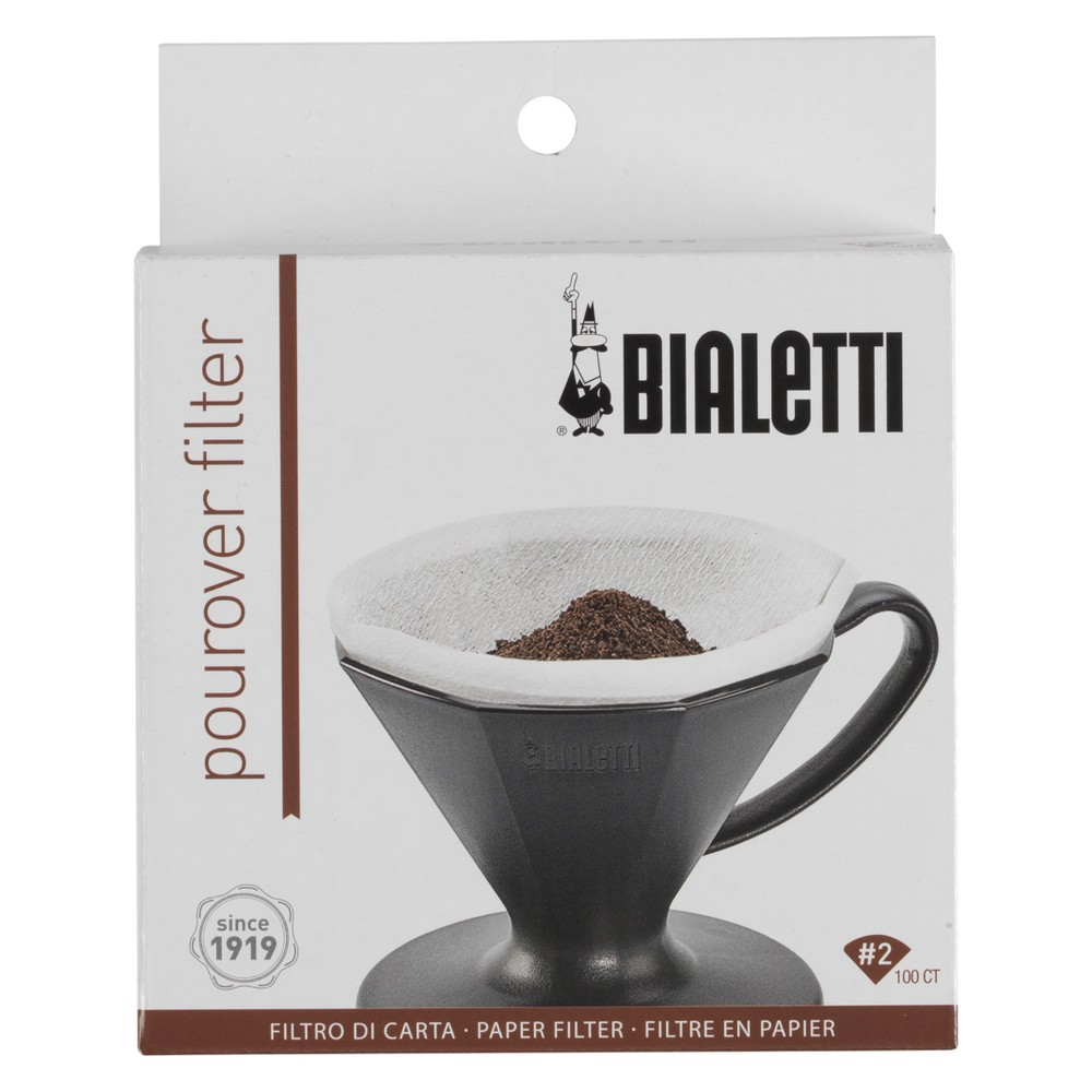 Image of Bialetti Disposable Pour Over Coffee Filter - White