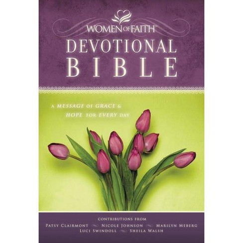Women of Faith Devotional Bible-NKJV - by  Thomas Nelson (Hardcover) - image 1 of 1