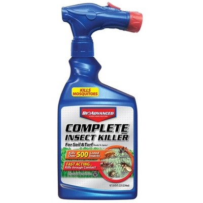 Complete Insect Killer for Soil & Turf with Ready-to-Spray Hose End - BioAdvanced
