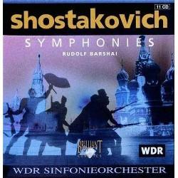 Shostakovich: Symphonies (Box Set) (CD)