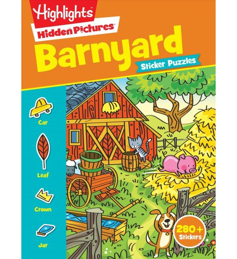 Barnyard Sticker Puzzles (Paperback) - image 1 of 1