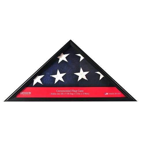 Pinnacle Frames Flag Case / Shadow Box - Black - image 1 of 4