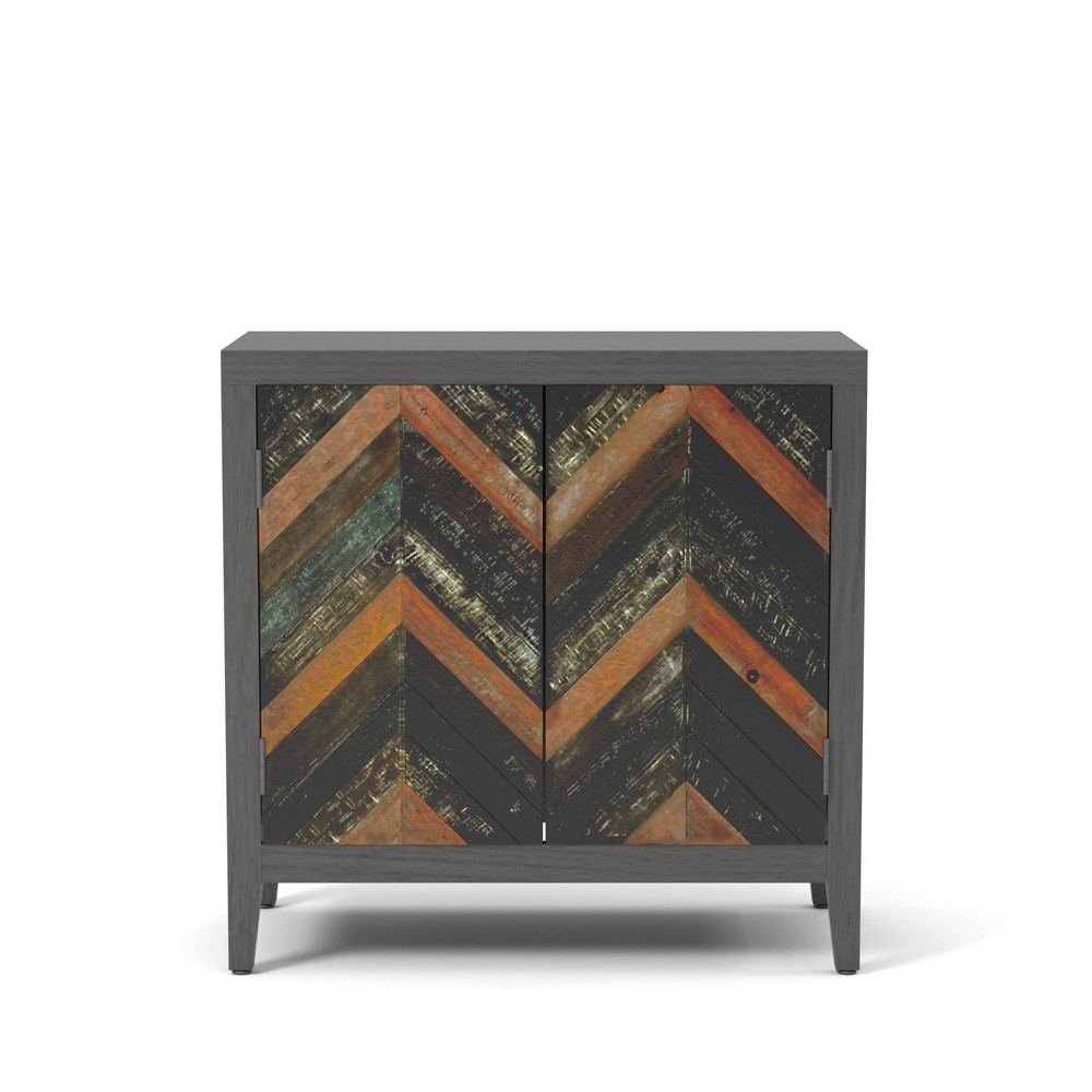Cheap Pierce Accent Cabinet Gray - HOMES: Inside + Out