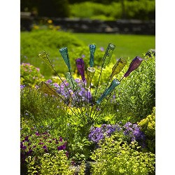 Gardener's Supply Bottle Bush, Metal Frame Outdoor Garden Decor, Accent, Feature, Inspiration - Gardener's Supply Company