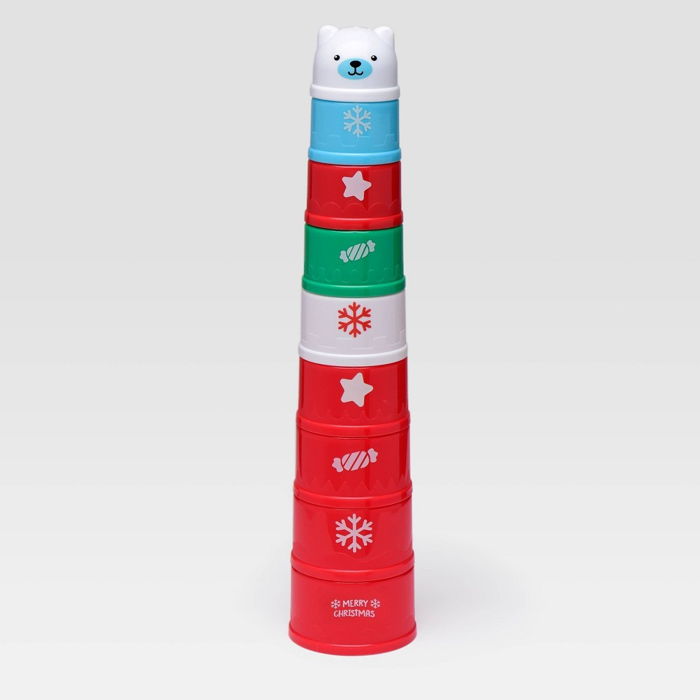 Image of Magic Years Fun Christmas Stacking Cup - 9pc