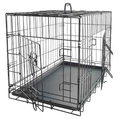 Paws & Pals Two Door Wire Pet Crate - 36