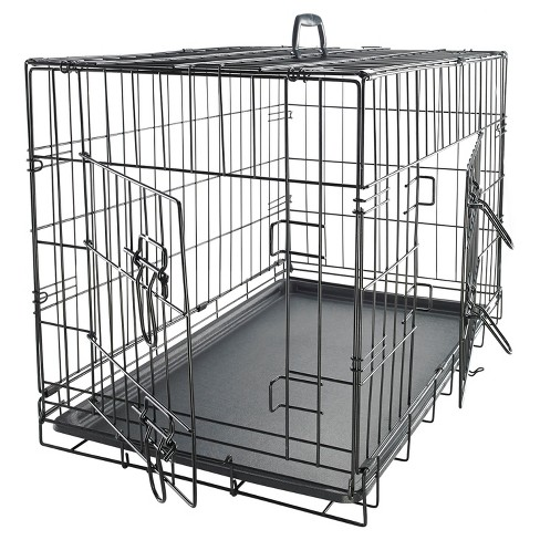 Oxgord Paws & Pals Two Door Wire Pet Crate - image 1 of 2