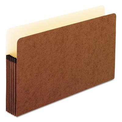 Pendaflex Standard Expanding File Pockets Manila Straight Cut 1 Pocket Legal Redrope 1536GOX