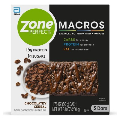 ZonePerfect Macros Chocolate Cereal - 8.8oz/5ct