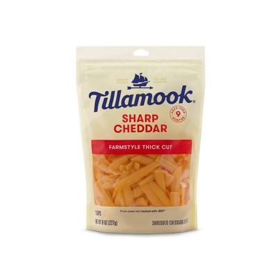 Tillamook Sharp Cheddar Shredded Cheese - 8oz