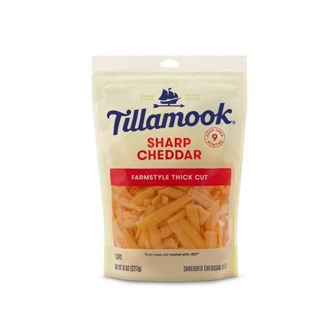 Tillamook Sharp Cheddar Shredded Cheese - 8oz - image 1 of 3