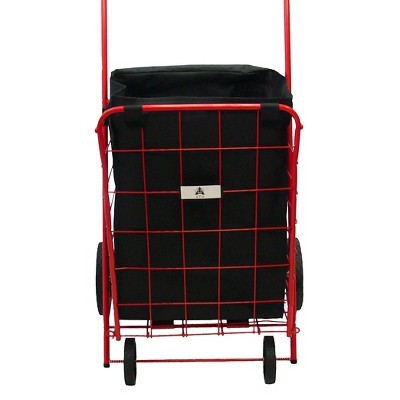 ATHome Storage Bag for Wheeled Cart Liners Black