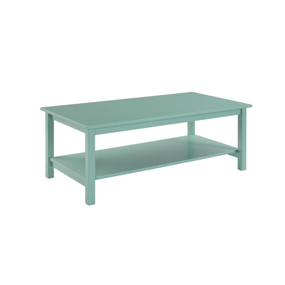 Landry Coffee Table Turquoise - Boraam