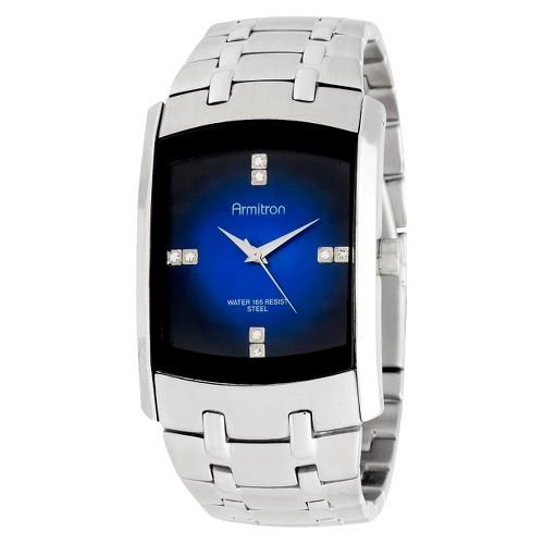 Armitron Silver Men's Dress Watch, Size: Small