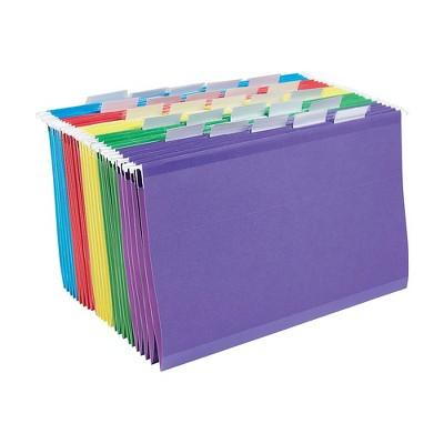 Staples Reinf. Hang. File Folders 5 Tab Lgl. Asst. 25/BX TR18657/18657