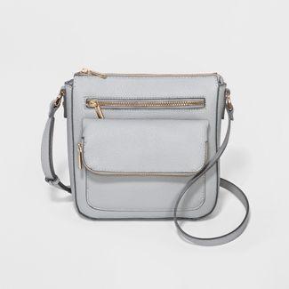 Crossbody Bag - A New Day™ Gray