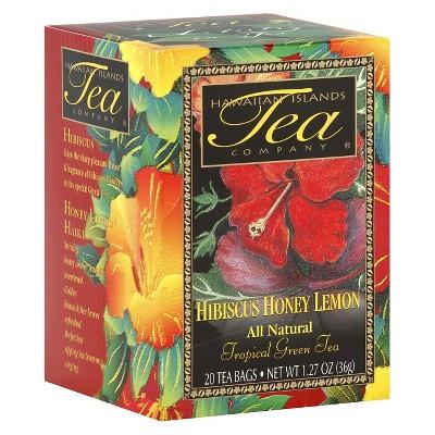 Hawaiian Islands Tea Company Hibiscus Honey Lemon Tea - 20ct