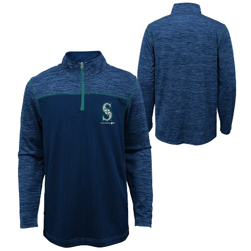 MLB Seattle Mariners Boys' In the Game 1/4 Zip Sweatshirt - image 1 of 3