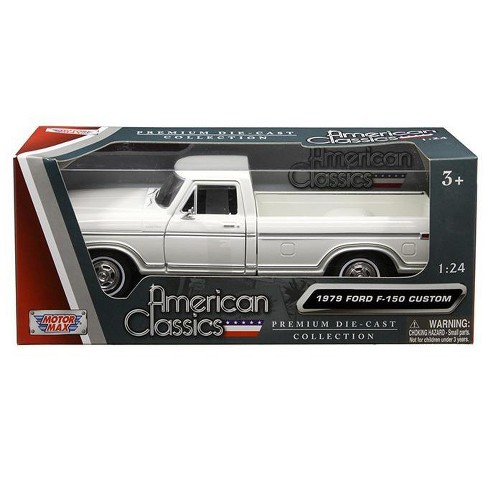 1979 Ford F 150 Pickup Truck White 1 24 Diecast Model Car By