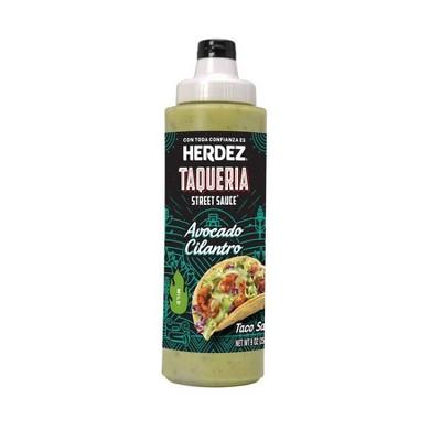 Hormel Herdez Taqueria Sauce Avocado Cilantro - 9oz