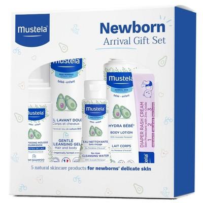 Mustela Newborn Arrival Baby Bath and Body Gift Set