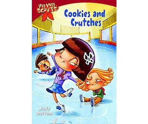 Cookies and Crutches ( Pee Wee Scouts) (Paperback) by Judy Delton - image 1 of 1