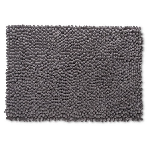 Chunky Chenille Memory Foam Bath Rug - Room Essentials™ - image 1 of 2