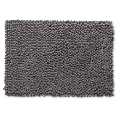 Chunky Chenille Memory Foam Bath Rug   Room Essentials™ : Target