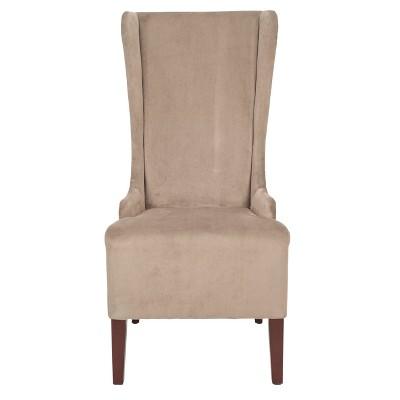 Bacall Dining Chair Wood/Beige   Safavieh® : Target