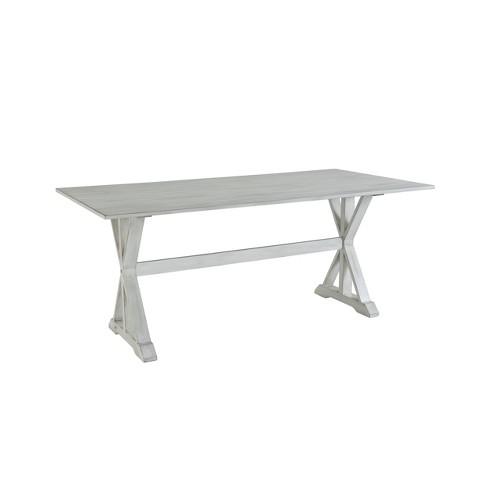 "72"" Jamestown Dining Table White - Boraam - image 1 of 3"