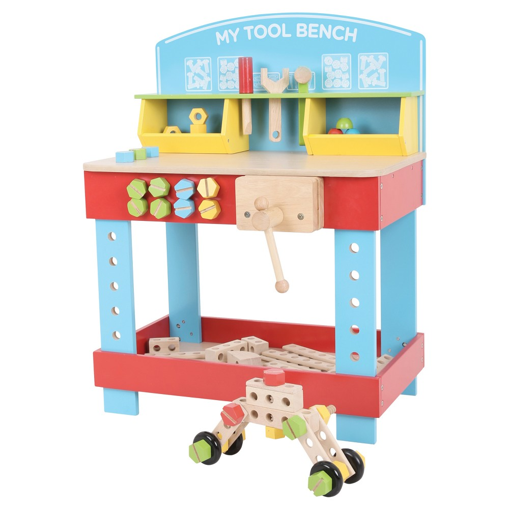 Bigjigs Toys My Tool Bench Wooden Role Play Toy