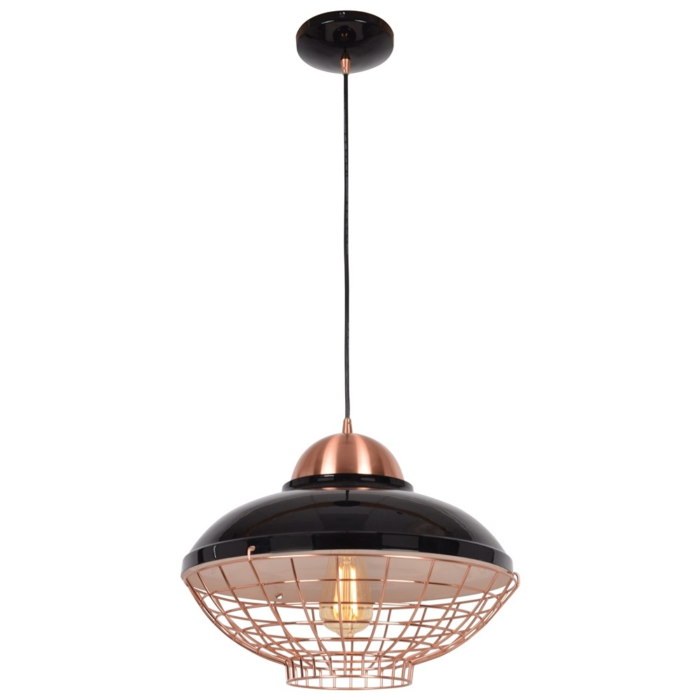 Image of Access Lighting 11.5 Dive 1 Light Pendant Ceiling Lights Black