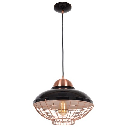 "Access Lighting 11.5"" Dive 1 Light Pendant Ceiling Lights Black - image 1 of 1"