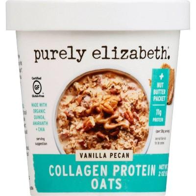 Purely Elizabeth Collagen Protein Oat Cup - Vanilla Pecan