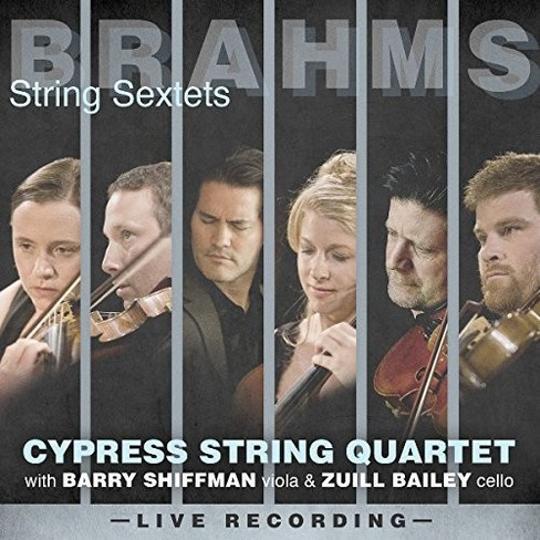 Cypress String Quart - Brahms:String Sextets (CD) - image 1 of 1