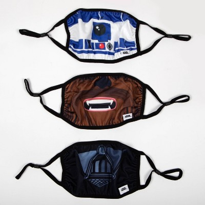 Adult 3pk Star Wars Face Mask