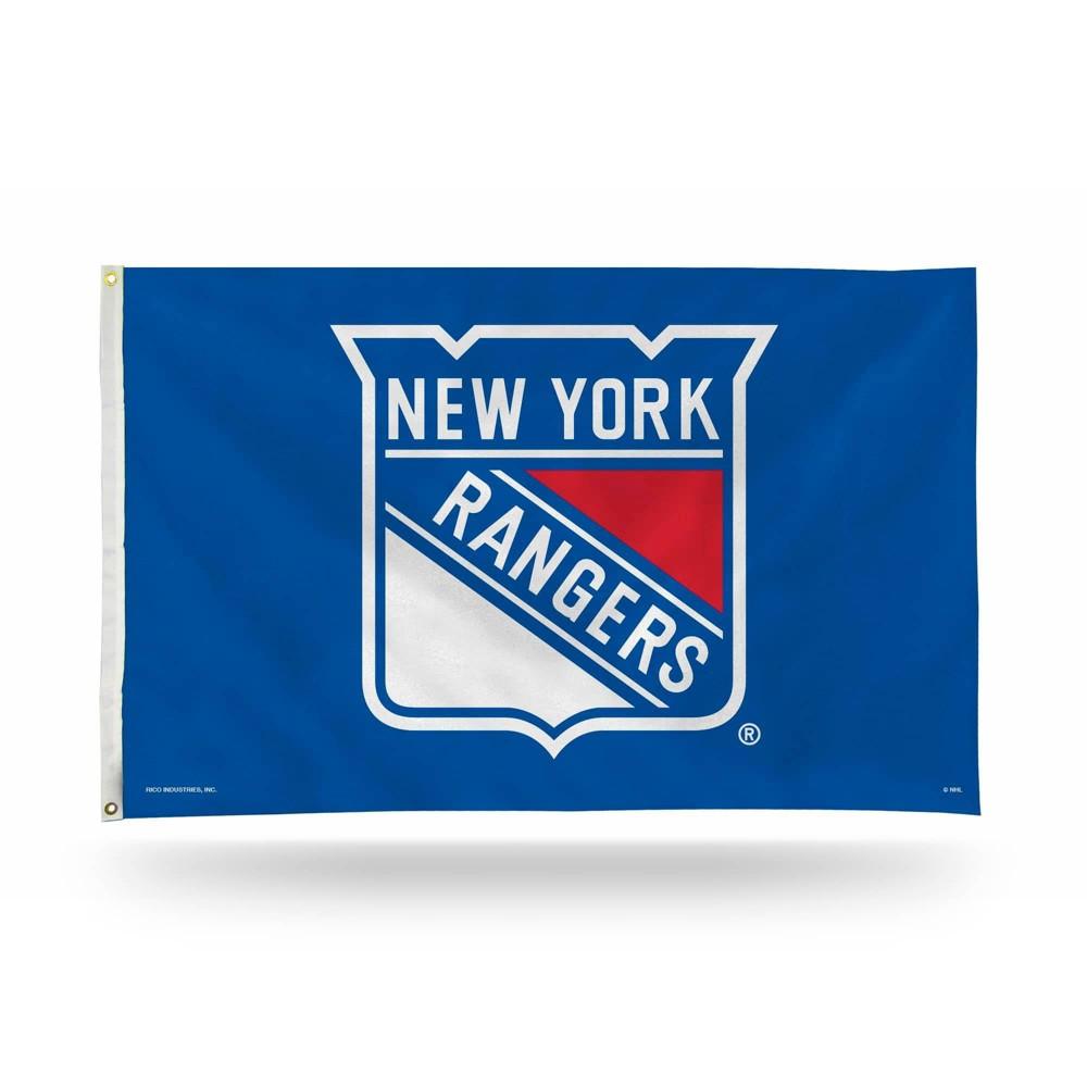 Nhl New York Rangers 3 39 X 5 39 Banner Flag