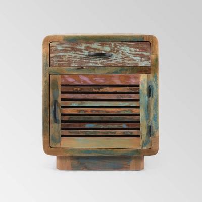 Appoline Boho Cabinet Natural - Christopher Knight Home