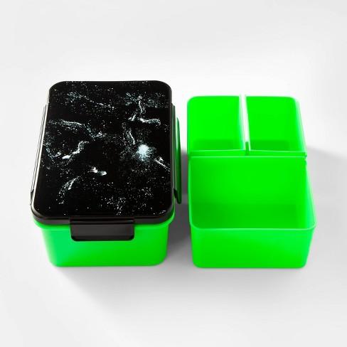 36oz Kids Galaxy Bento Box Green/Black - Cat & Jack™ - image 1 of 2