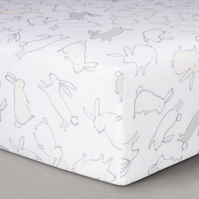 Fitted Crib Sheet Bunnies - Cloud Island™