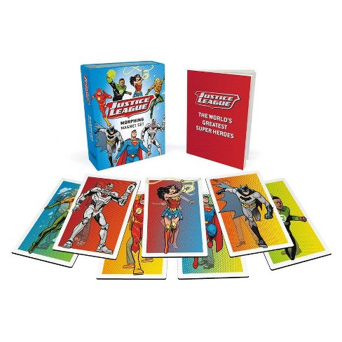 Justice League: Morphing Magnet Set - (Rp Minis) by  Steve Kort� (Paperback) - image 1 of 1