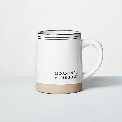 'Morning Handsome' Stoneware Mug - Hearth & Hand™ with Magnolia